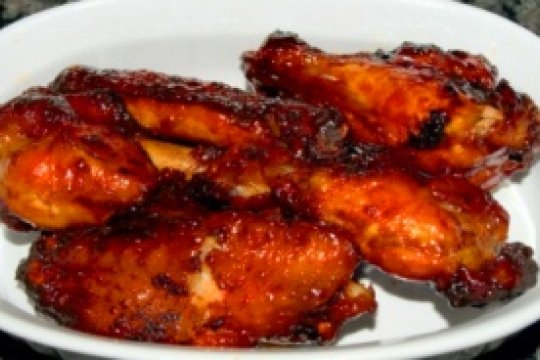 Pineapple-Teriyaki Chicken Wings
